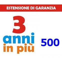 GARANZIA3 - ESTENSIONE DI GARANZIA 500€