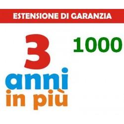 GARANZIA3 - ESTENSIONE DI GARANZIA 1000€