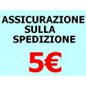 ASSICURAZIONE SPEDIZIONE 5 EURO