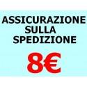 ASSICURAZIONE SPEDIZIONE 8 EURO