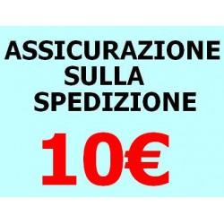 ASSICURAZIONE SPEDIZIONE 10 EURO