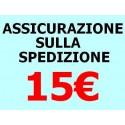 ASSICURAZIONE SPEDIZIONE 15 EURO