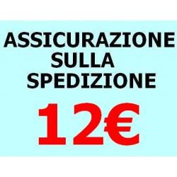 ASSICURAZIONE SPEDIZIONE 12€
