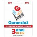 GARANZIA3 - ESTENSIONE DI GARANZIA
